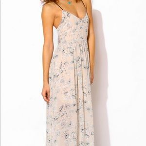 Urban outfitters maxi dress with tie back